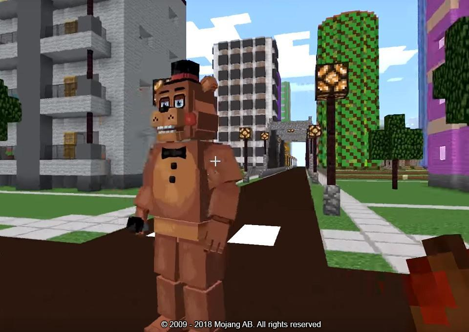 Mod FNAF for Minecraft for Android - APK Download