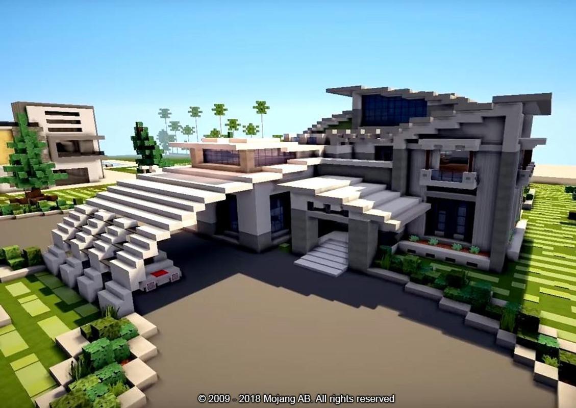 minecraft pe beautiful house download