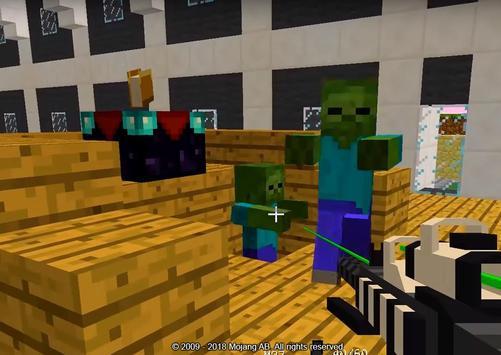 apocalipse zumbi minecraft pe para android apk baixar