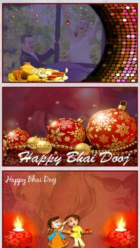 Bhai Dooj Photo Frame 2017 poster