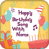 Birthday Song Maker with Name icon