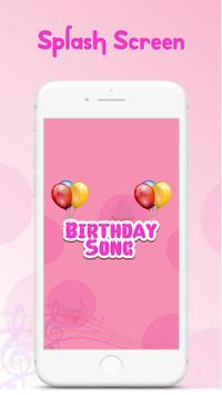 Birthday Song Maker with Name poster