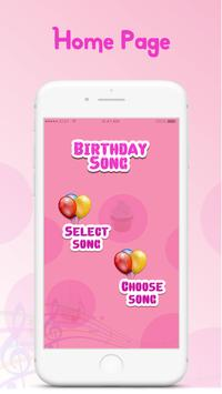 Birthday Song Maker with Name screenshot 1