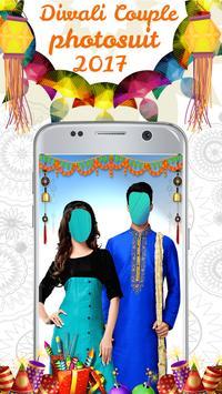 Diwali Couple Photo Suit Hd poster