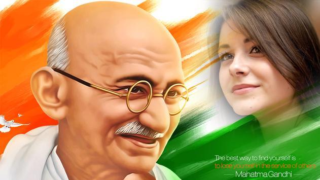 Gandhi Jayanti Photo Frames 2017 poster