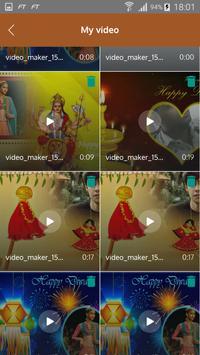 Diwali Video Maker screenshot 2