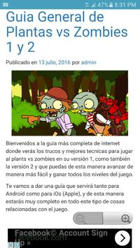 Trucos plants vs zombies 1 y 2 poster