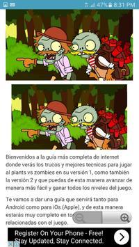 Trucos plants vs zombies 1 y 2 screenshot 1