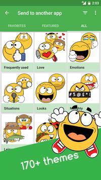 ... Ochat: emoticons for texting & Facebook stickers apk screenshot ...