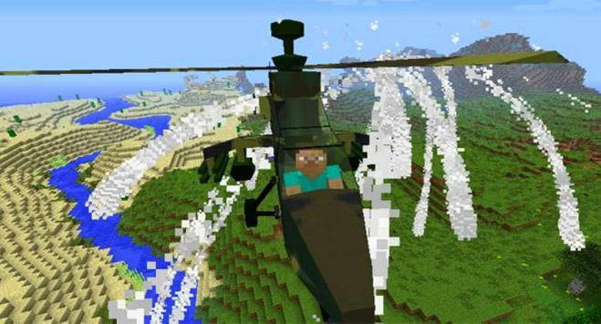 Plane Mods for Minecraft PE screenshot 1