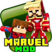 Marvel Mod for Minecraft PE icon