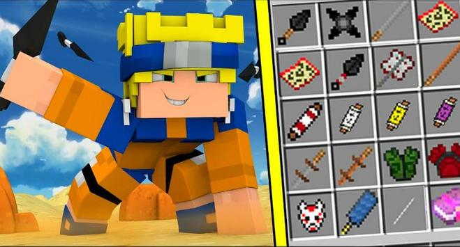 Naruto Mod for Minecraft PE poster