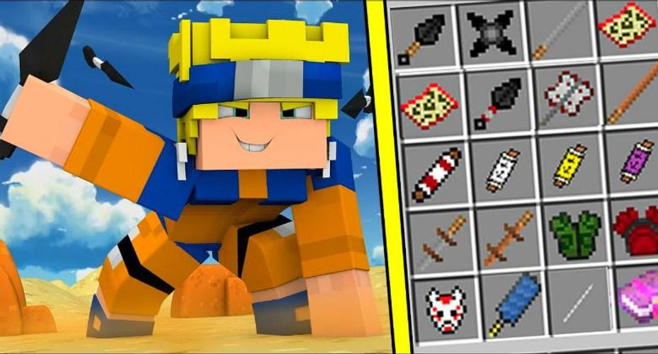 Naruto Mod for Minecraft PE for Android APK Download