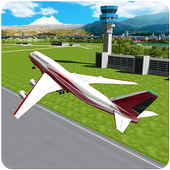 Air Plane Landing : Real Pilot Flight Simulator 3D icon