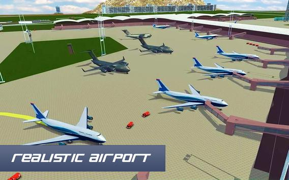 Air Plane Landing : Real Pilot Flight Simulator 3D screenshot 6