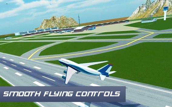 Air Plane Landing : Real Pilot Flight Simulator 3D screenshot 9