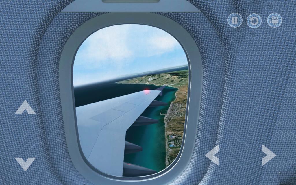 Real Plane : Flight & Landing Pilot Simulator Game for