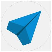 Paper Plane - Смарт Месседжер для Телеграмм icon