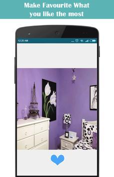 Purple Bedroom Decoration apk screenshot