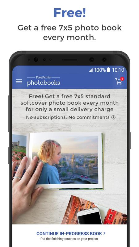freeprints photobooks free book every month apk download free