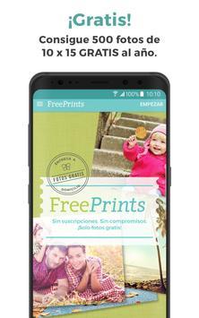 FreePrints - Fotos gratis apk screenshot