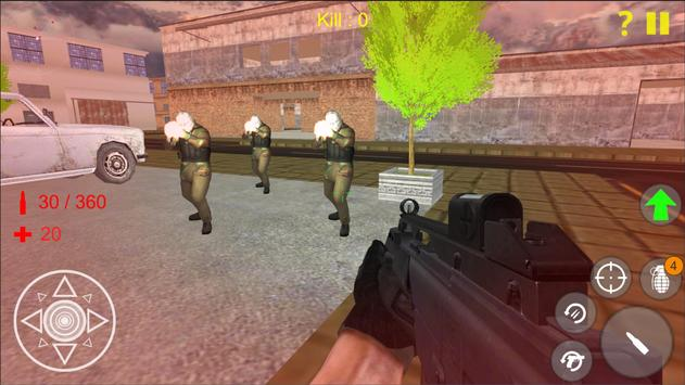Shooting Strike Mobile Game apk screenshot