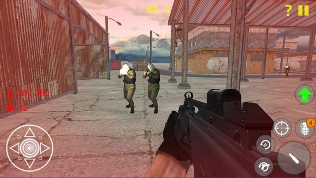 Shooting Strike Mobile Game poster