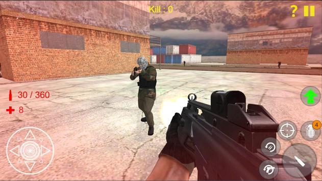 Shooting Strike Mobile Game screenshot 2