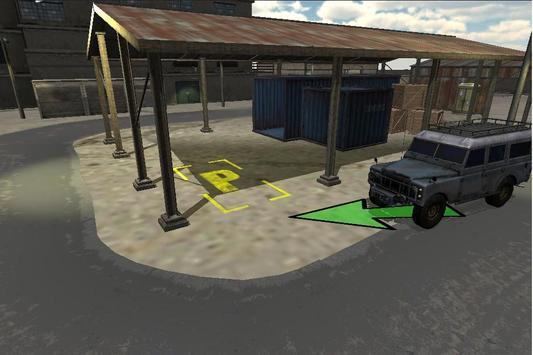 Shanty Car Parking 3D Simulator Game poster