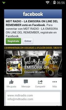 MDT RADIO screenshot 1
