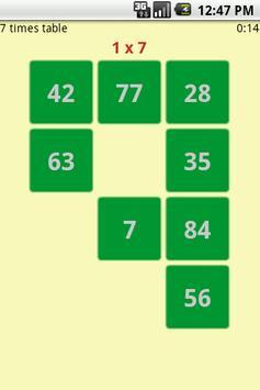 Times Tables Xpress screenshot 1