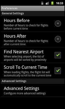 Flight Info Norway screenshot 3