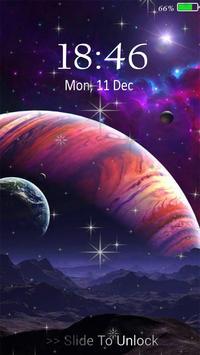 Planetscape 3D live wallpaper poster
