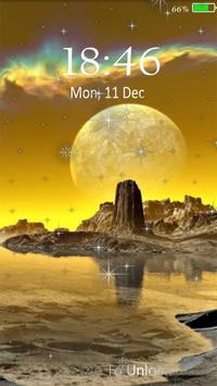 Planetscape 3D live wallpaper screenshot 3