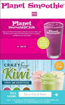 Planet Smoothie by Kahala poster