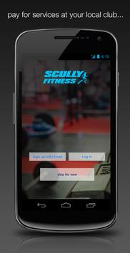 Scully Fitness poster