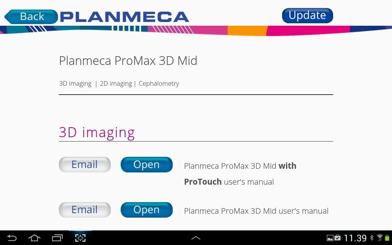 ... Planmeca Manual Kit screenshot 4 ...