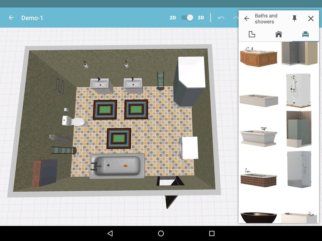 Bathroom design apk download free lifestyle app for for Bathroom designs software free download
