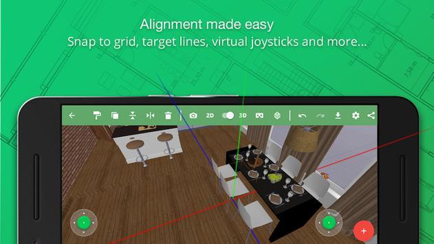 Planner 5D Design de Interior apk imagem de tela