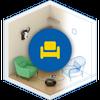 Swedish Home Design 3D ikona