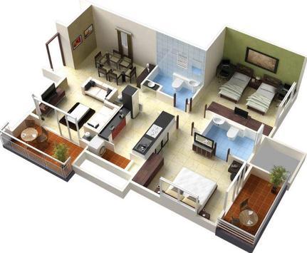 Planner 3D Home Design poster