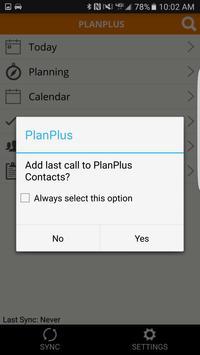 PlanPlus Mobile apk screenshot