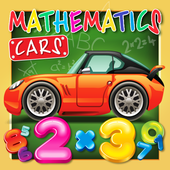 Mathematics cars children icon