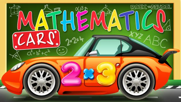 Mathematics cars children screenshot 1