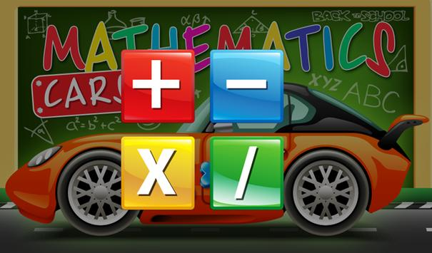Mathematics cars children screenshot 2