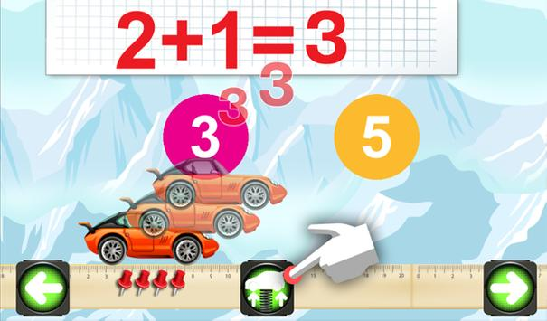 Mathematics cars children screenshot 4