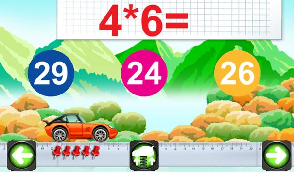 Mathematics cars children screenshot 6