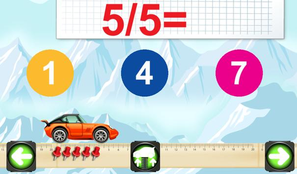 Mathematics cars children screenshot 7