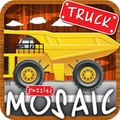 Animated Puzzles trucks cars icon