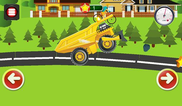 Animated Puzzles trucks cars screenshot 4